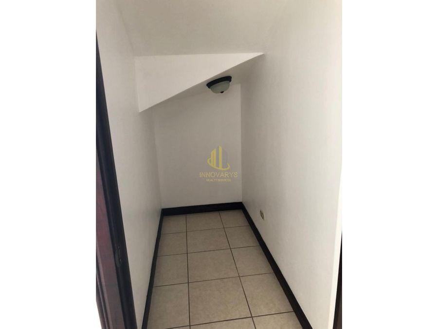 alquiler de condominio amoblado en escazu