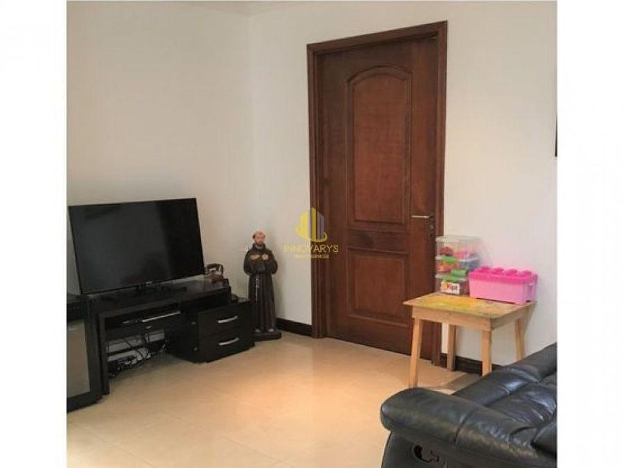 apartamento de tres habitaciones en venta sabana oeste