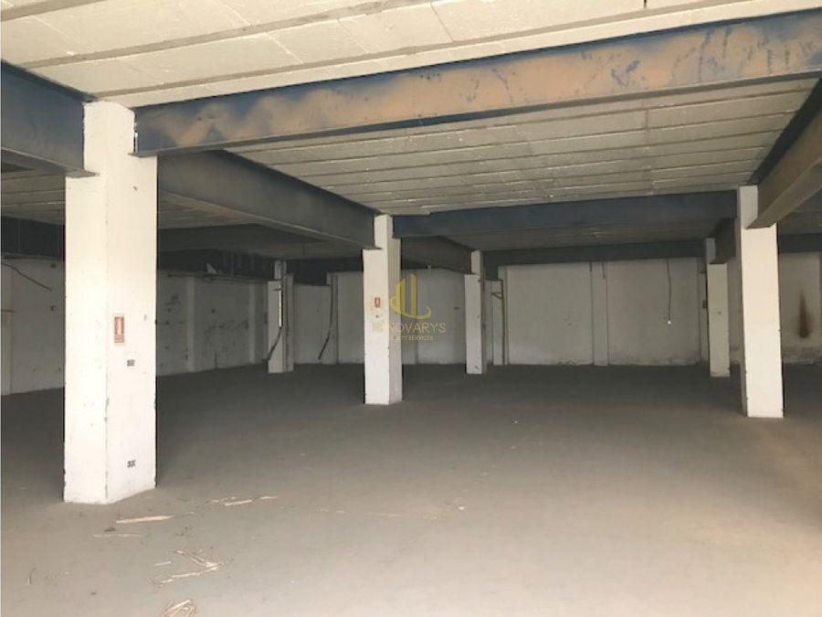 bodega industrial de 2000 m2 en alquiler pavas