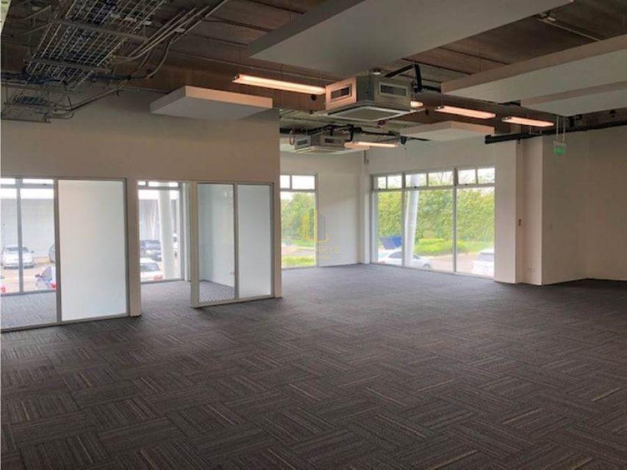alquiler de oficina de 540 m2 en lindora pozos de santa ana