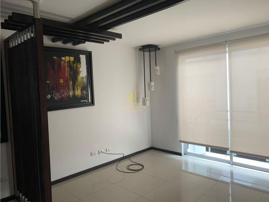moderno apartamento en condominio pozos de santa ana