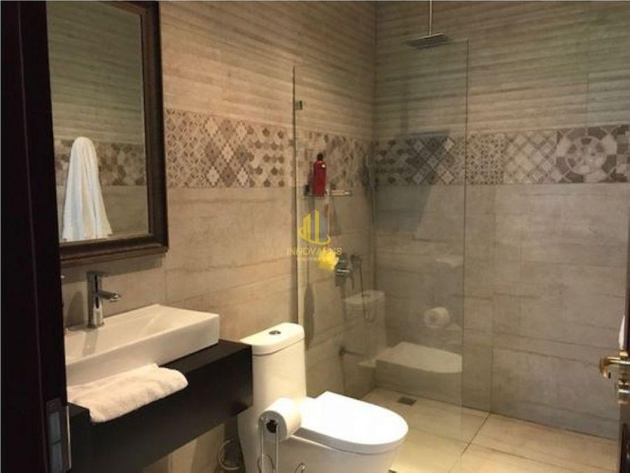 apartamento con servicios en condominio piedades de santa ana