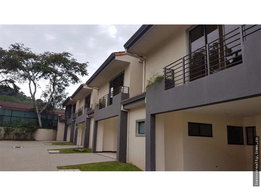 venta casa en condominio para estrenar santa ana