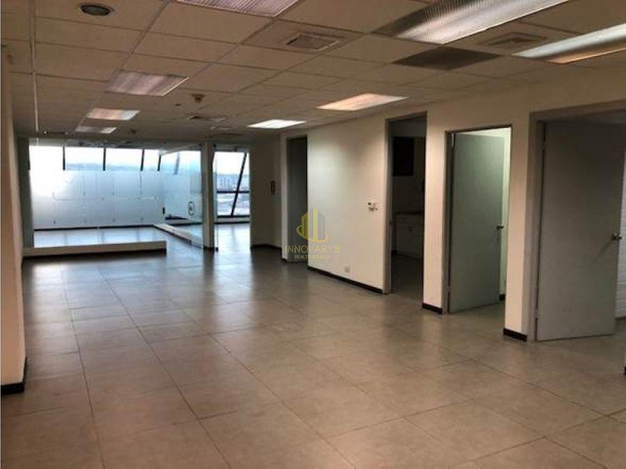 alquiler de oficina de 14612 m2 en torre mercedes