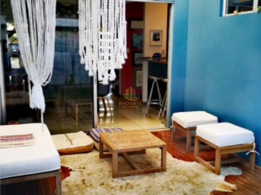 condominio de 3 hab con muebles en alquiler brasil de mora