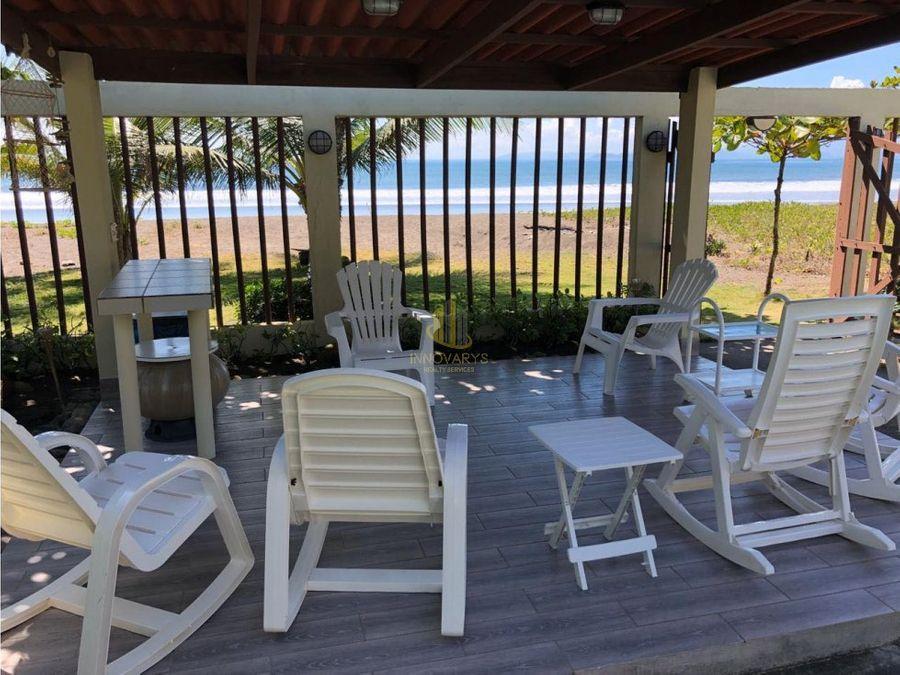 venta de casa de 3 habitaciones en tivives frente al mar