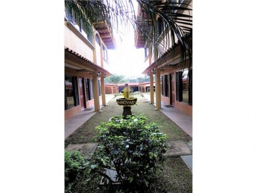 condominio amueblado en alquiler guachipelin norte