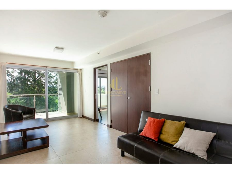 lindo apartamento de 1 cuarto en vistas del robledal la uruca
