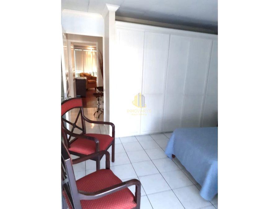 apartamento amoblado 2 cuartos guachipelin norte