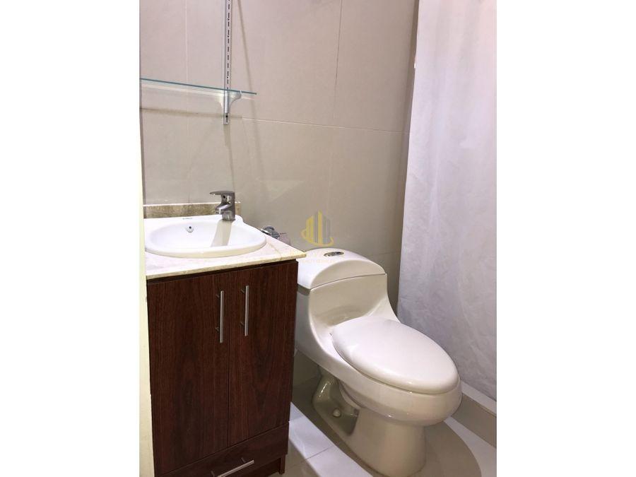alquiler de centrico apartamento independiente de 2 hab santa ana