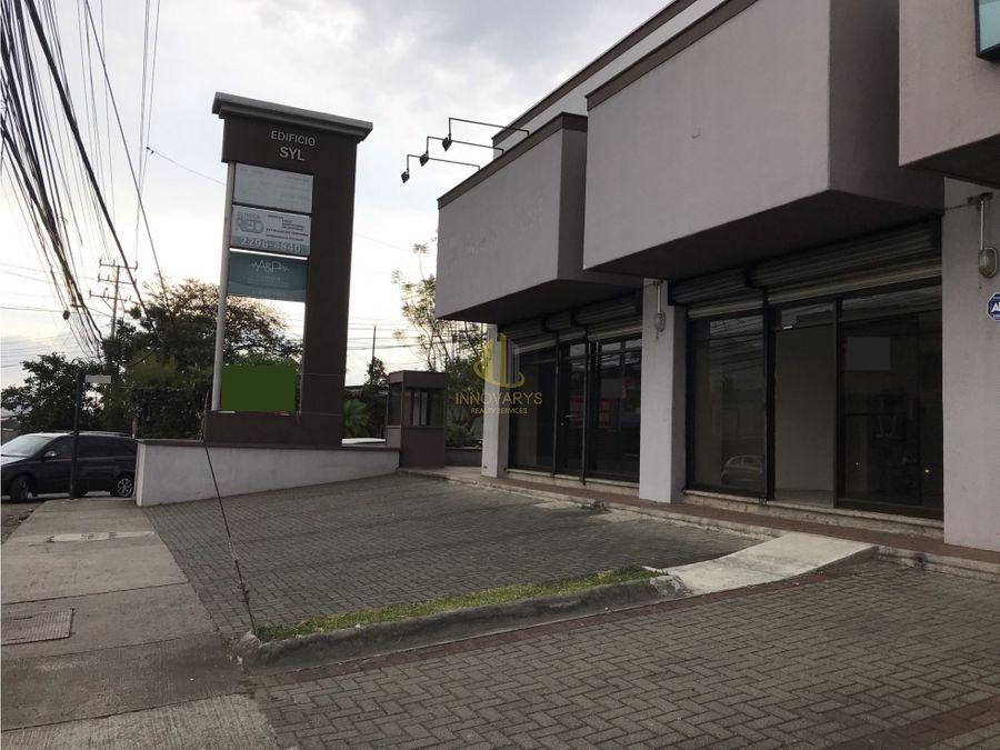 alquiler local 90 m2 sabana oeste san jose