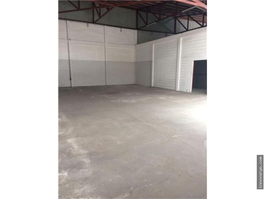 alquiler de bodega industrial 265 m2pavas