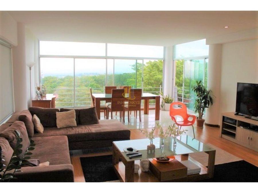 venta de apartamento en bohemia country escazu