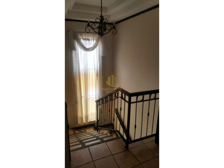 venta de casa en condominio belen