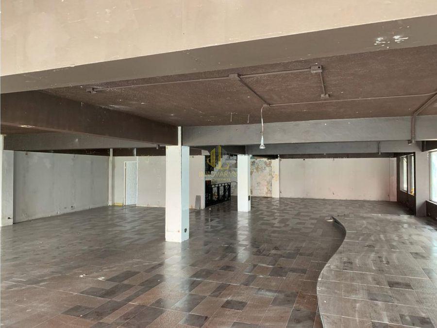 oficinas 551 m2 en alquiler edificio en san jose centro