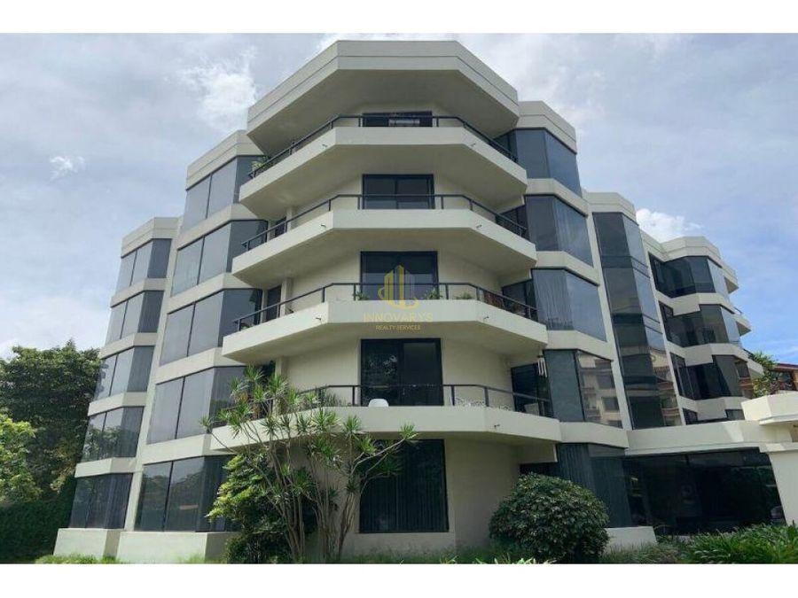 venta de apartamento 2 habitaciones en condominio en escazu