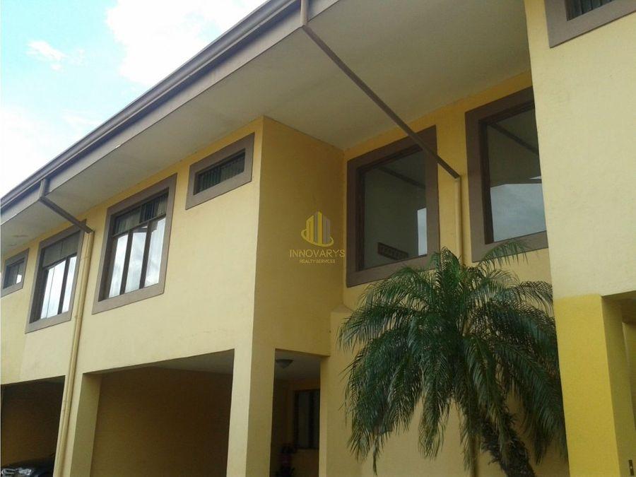 alquiler de casa de 2 habitaciones en condominio guachipelin norte