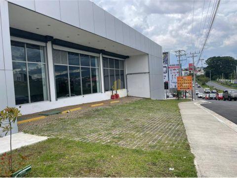 alquiler de local comercial de 500 m2 en zapote