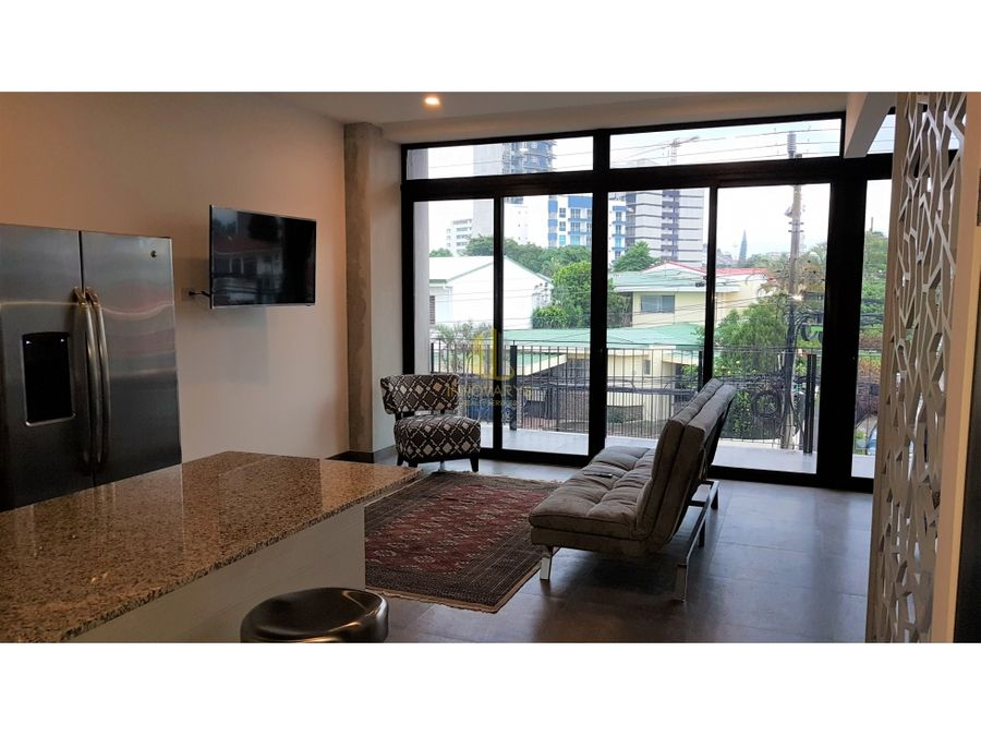 apartamento tipo loft amueblado en alquiler torre w rohrmoser