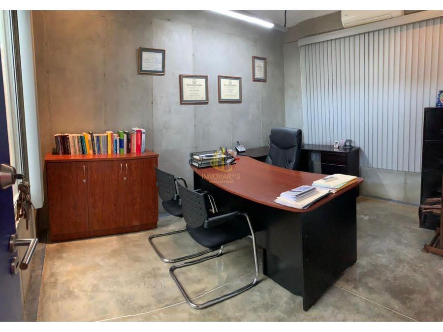 alquiler oficina 12 m2 con servicios incluidos santa ana