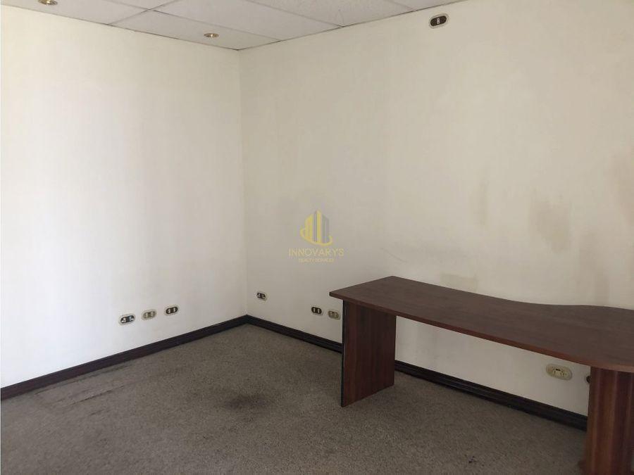 alquiler de oficina 131 m2 en la sabana
