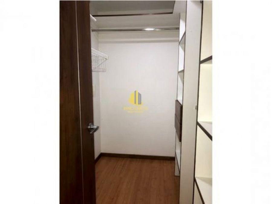 apartamento 2 hab cuarto servicio en alquiler bello horizonte
