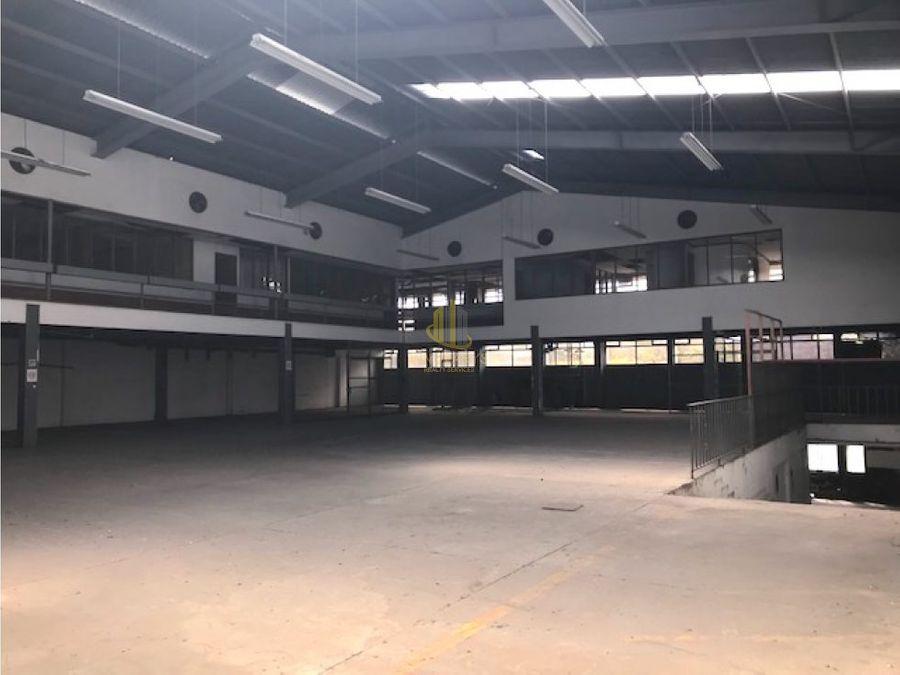 bodega industrial de 4000 m2 en venta pavas