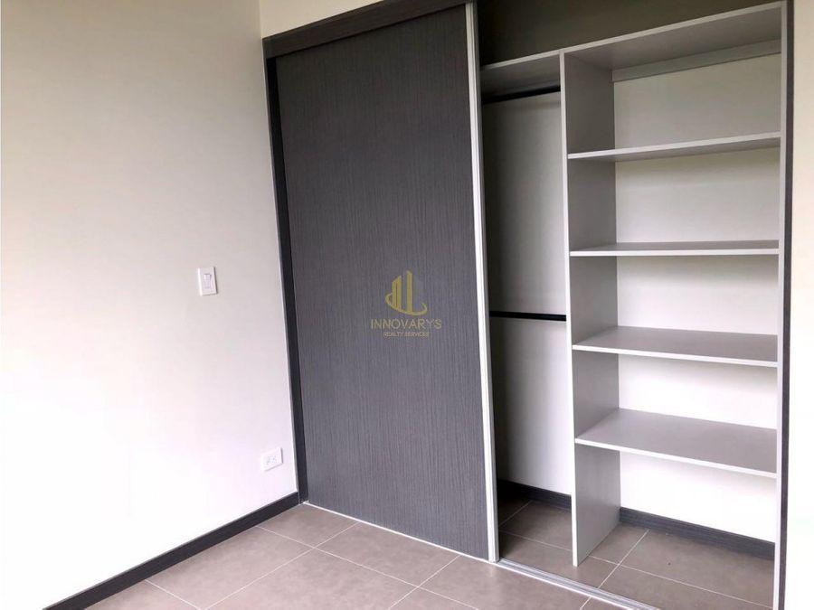 apartamento 2 hab en alquiler brasil santa ana