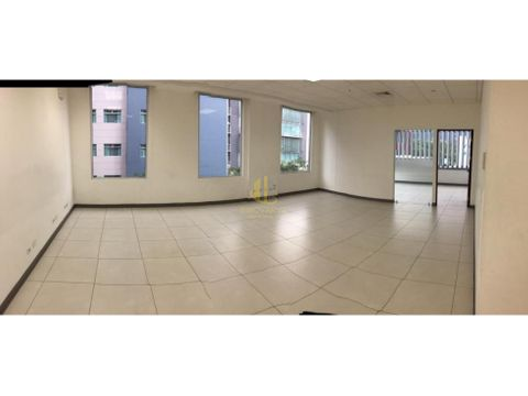 alquiler de oficina de 281 m2 en avenida escazu san jose