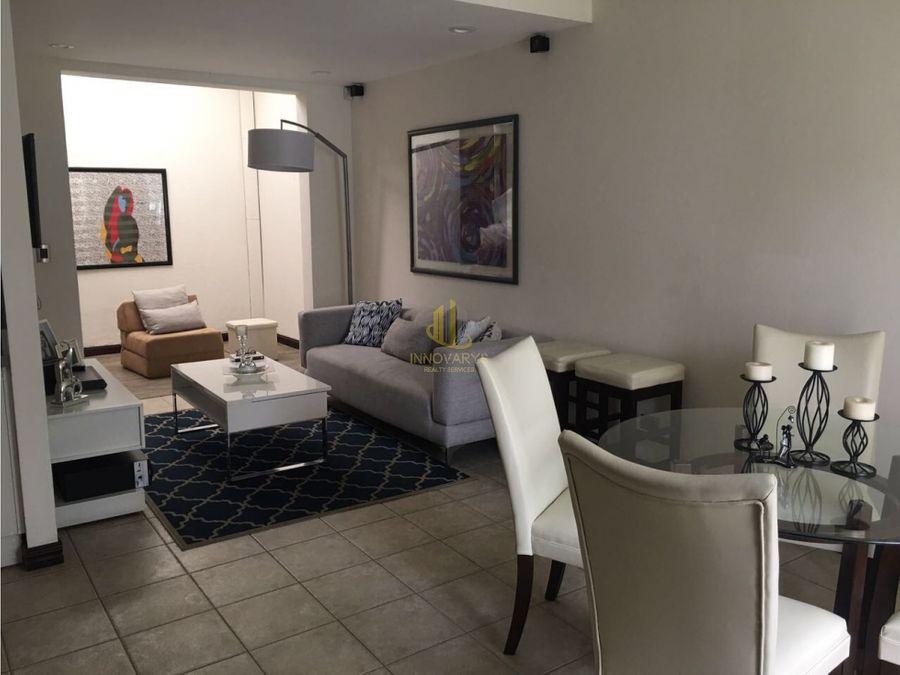 alquiler de apartamento 2 cuartos en guachipelin cerca de distrito 4
