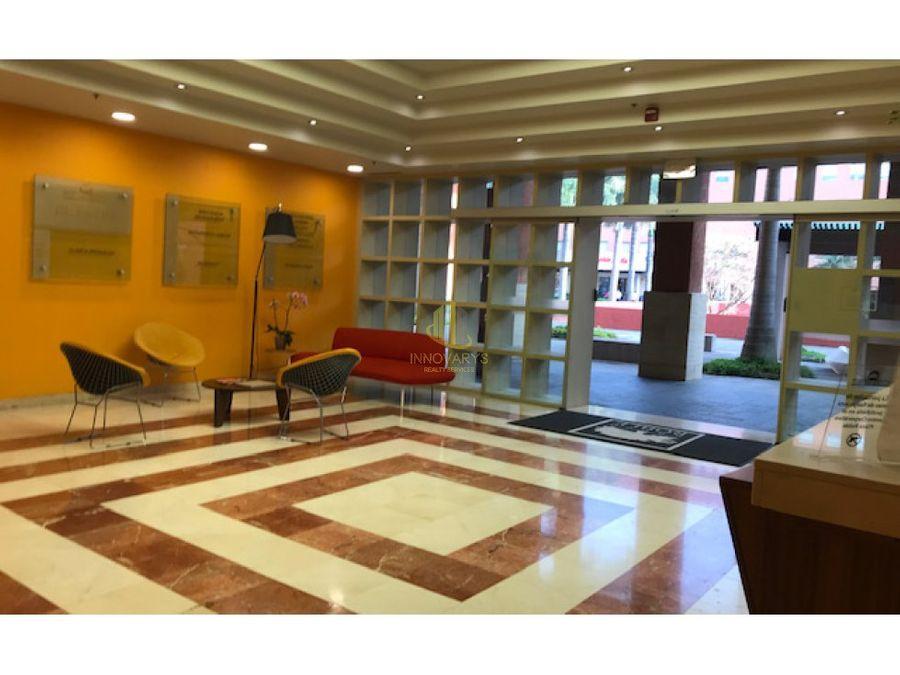 en alquiler oficina 156 m2 amueblada plaza roble