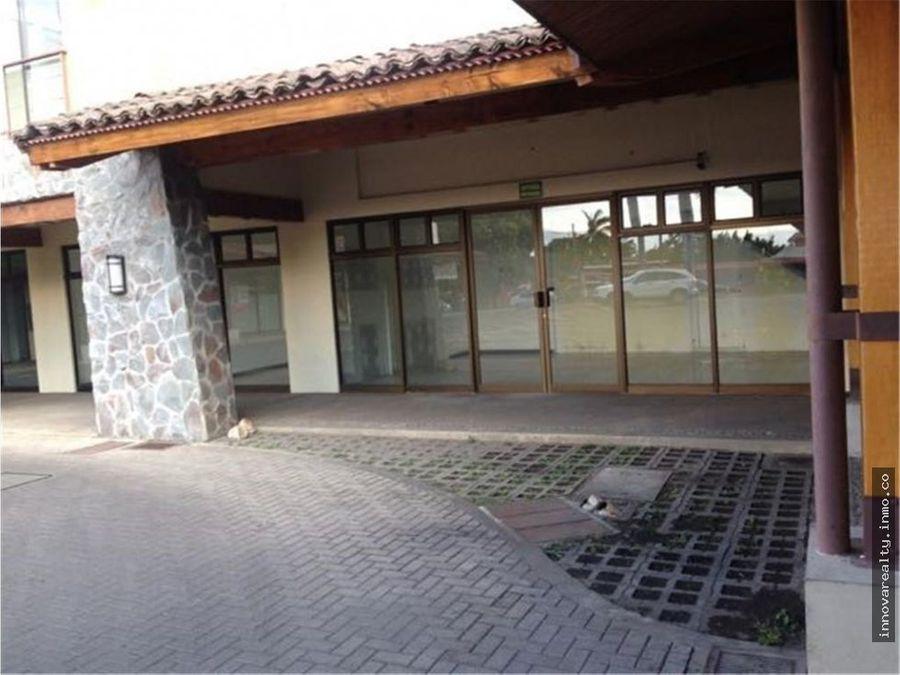 alquiler de local comercial de 105 m2 rio oro