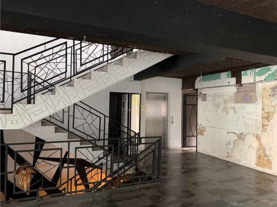 oficinas 275 m2 en alquiler edificio en san jose centro