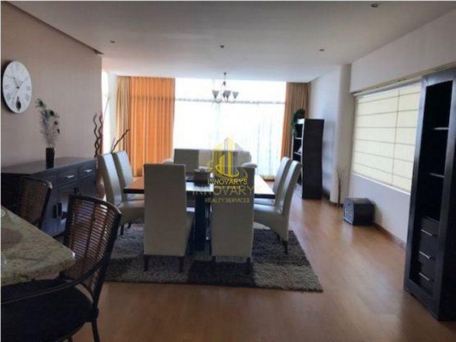 venta de apartamento amueblado por el country club escazu