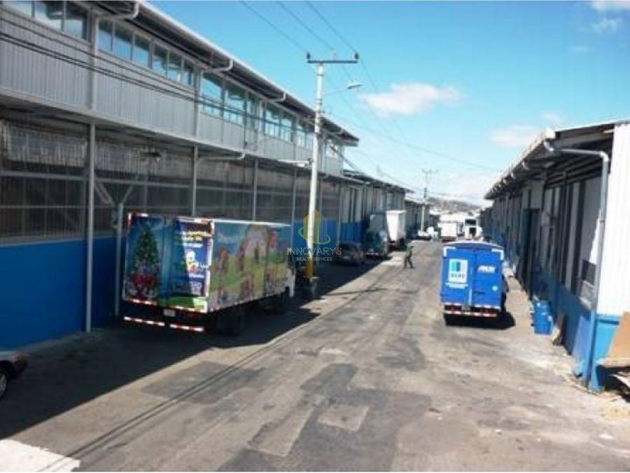 alquiler de bodega de 220 m2 en complejo en pavas