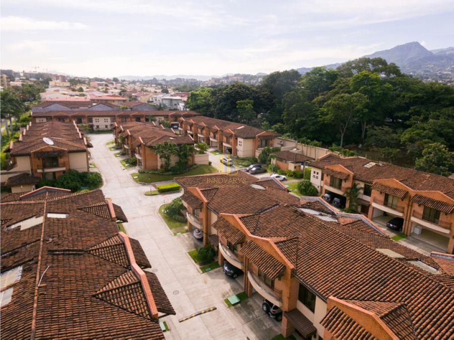 alquiler de casa de 4 cuartos en condominio trejos montealegre