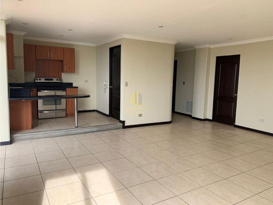alquiler de apartamento 1 hab vista linea blanca en torre escazu