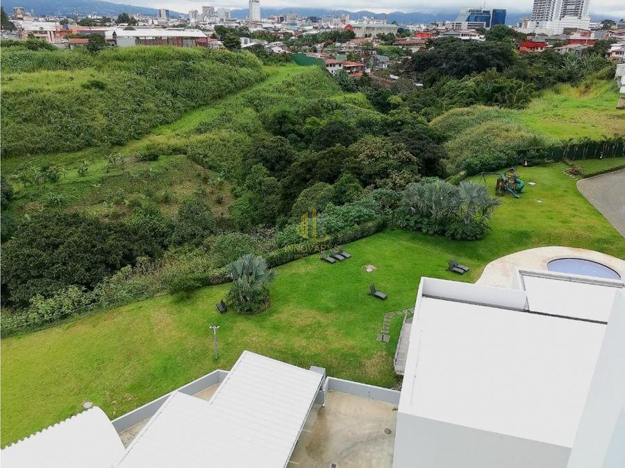 alquiler de apartamento amueblado con vista condado del parque
