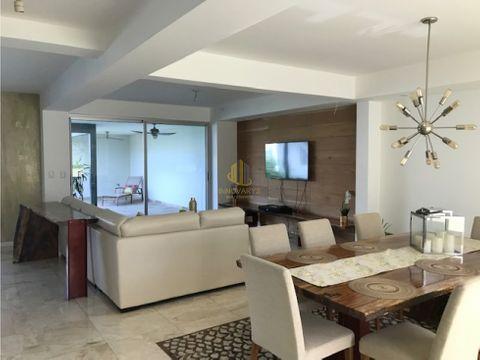 casa amueblada 4 cuartos en alquiler condominio en rio oro