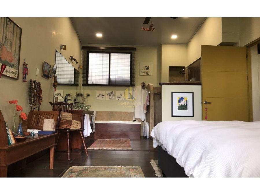 apartamento amueblado 1 hab rodeado de naturaleza santa ana