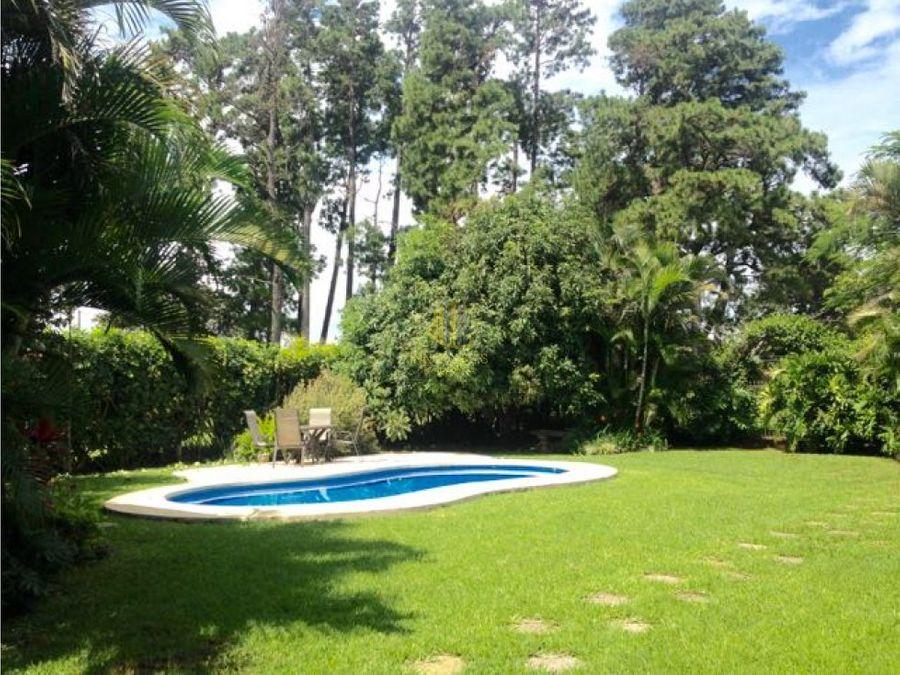 casa con piscina en alquiler los reyes la guacima
