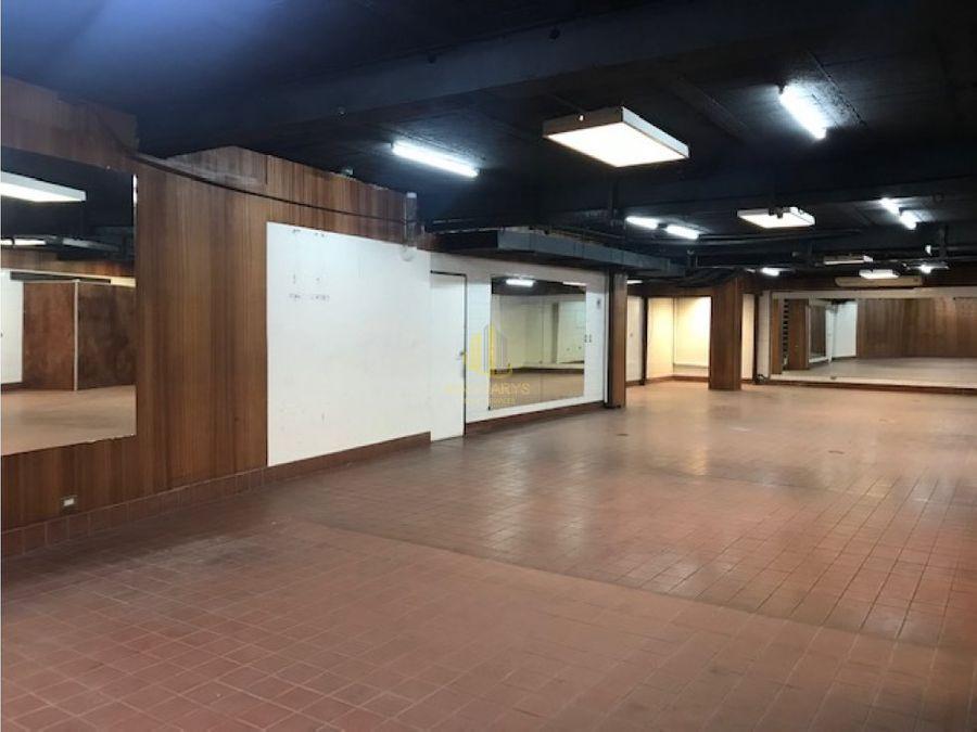 alquiler de local de 230 m2 en pozos santa ana