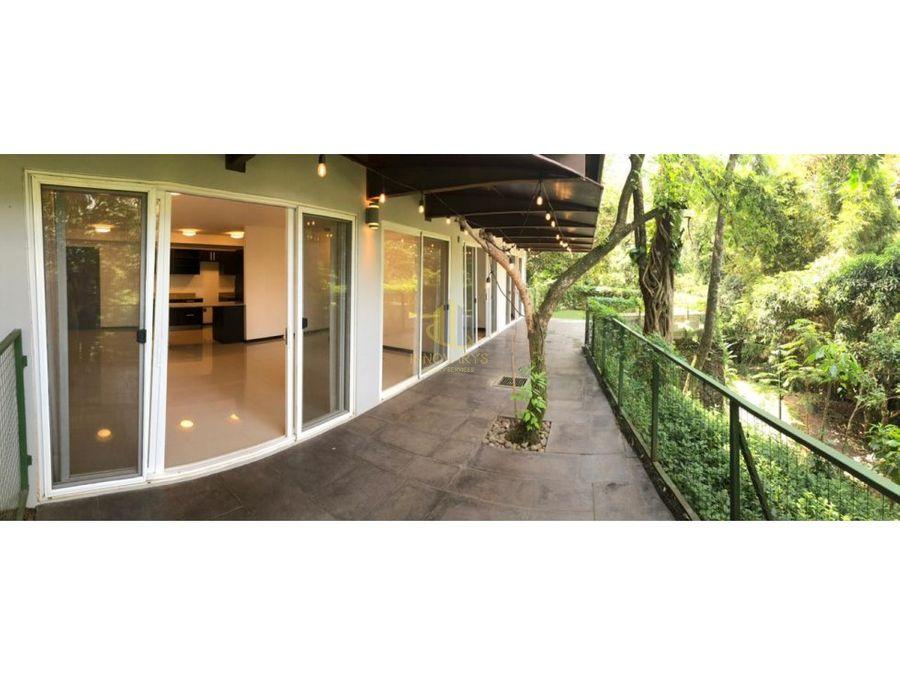 apartamento con vista al bosque en venta san nicolas de bari