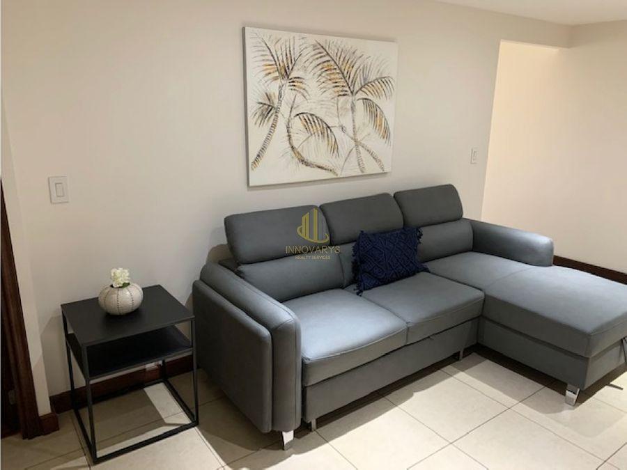 apartamento amueblado y con vista en alquiler sabana norte