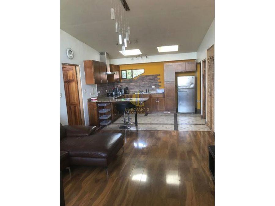 alquiler apartamento 2 cuartos en san antonio de escazu