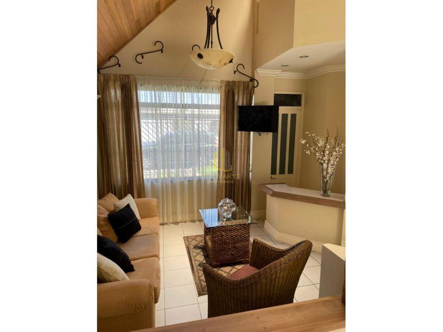 alquiler casa amoblada de 4 cuartos en sabana sur
