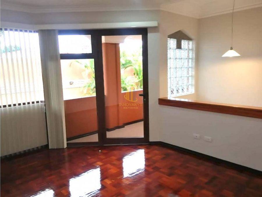 alquiler condominio 3 cuartos sabana sur