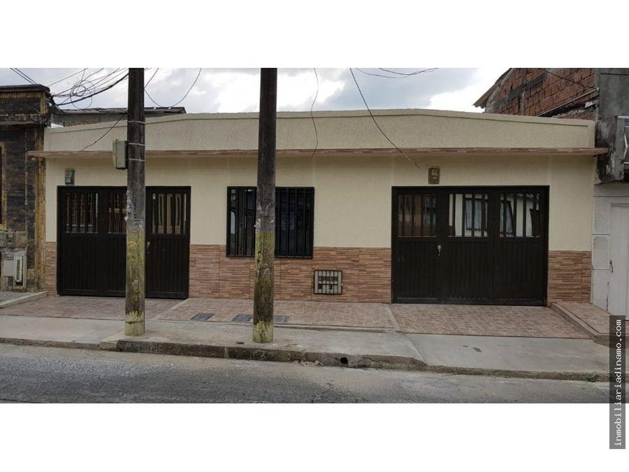 venta de casa en el barrio el paraiso armenia q