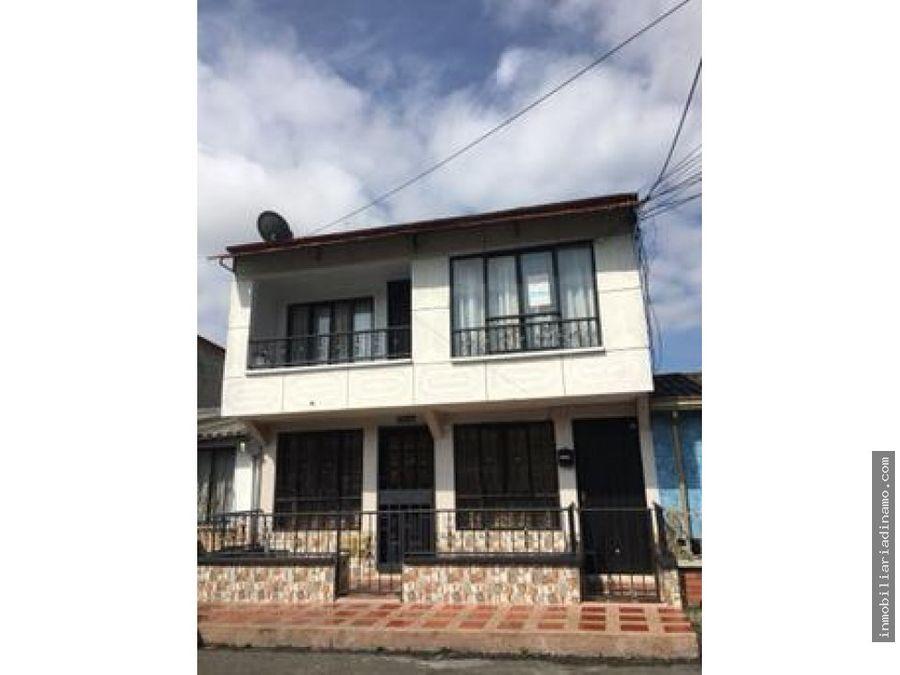 casa en venta de dos pisos en ciudadela de los andes armenia