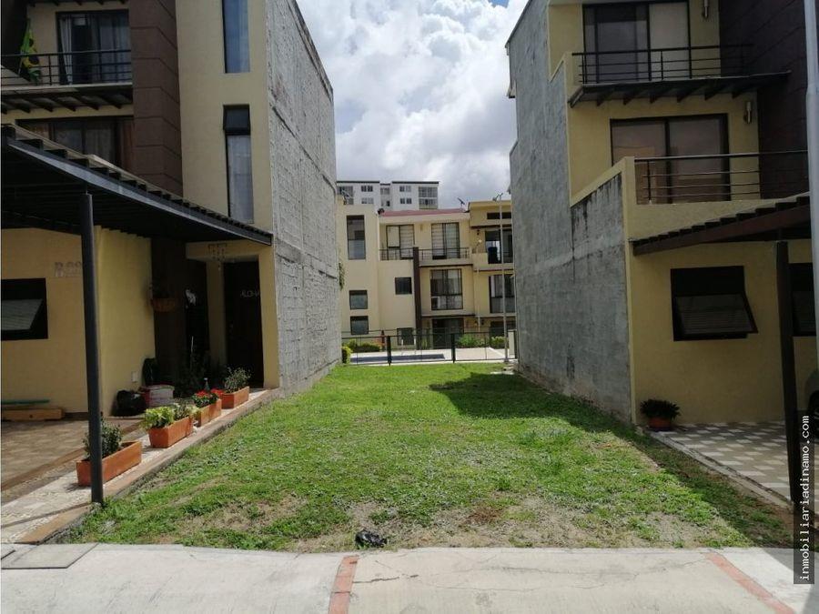 lote en venta en conjunto residencial palos verdes